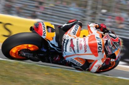 Jerez MotoGP: Marc Marquez grabs pole with last-gasp record lap