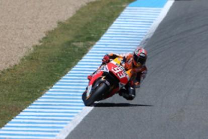 Jerez MotoGP: Marc Marquez quickest in second practice