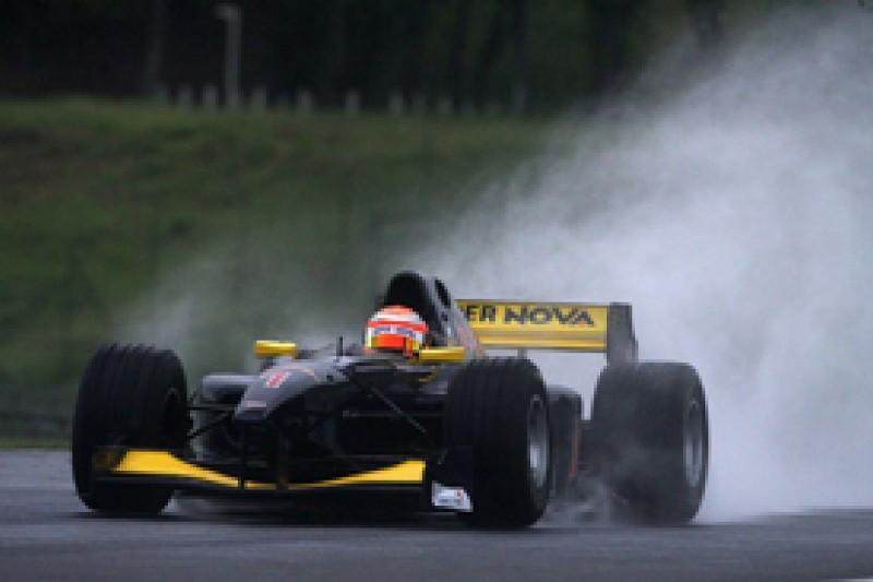 Auto GP Hungaroring: Markus Pommer on pole after rain-hit session