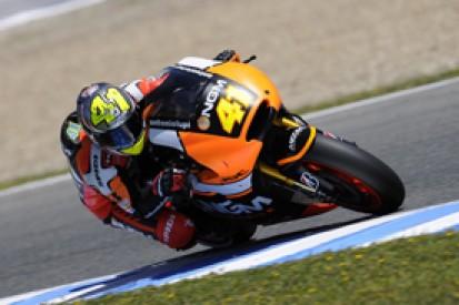 Jerez MotoGP: Aleix Espargaro fastest for Forward in practice one