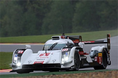 Spa WEC: Loic Duval puts Audi on top in wet first practice
