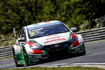 Hungaroring WTCC: Tarquini heads Honda trio in test