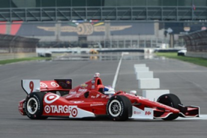 Indianapolis road course IndyCar test: Ganassi's Scott Dixon on top