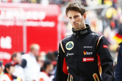Romain Grosjean glad he stayed quiet over Lotus F1 team pay issues