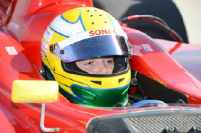 Barber Indy Lights: Gabby Chaves on pole for second race