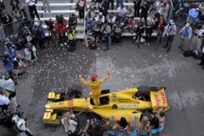 Barber IndyCar: Ryan Hunter-Reay wins delayed race