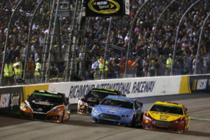 Richmond NASCAR: Joey Logano grabs win in thrilling late battle