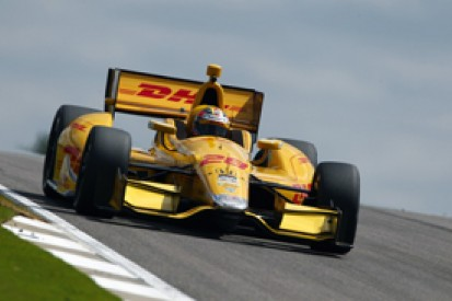Barber IndyCar: Ryan Hunter-Reay stays on top in practice two