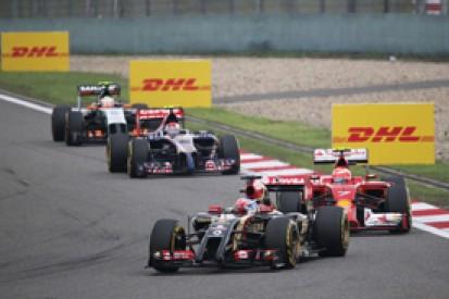 Romain Grosjean: Lotus now second-best of Renault Formula 1 teams