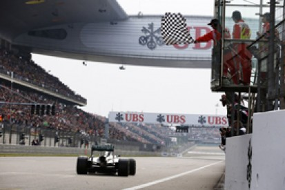 Chinese GP: Chequered flag error means race declared on lap 54