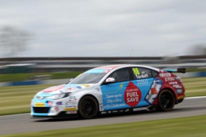 Donington BTCC: Sam Tordoff fastest in free practice