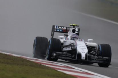 Chinese GP: Bottas and Massa think Williams's rain woes are over