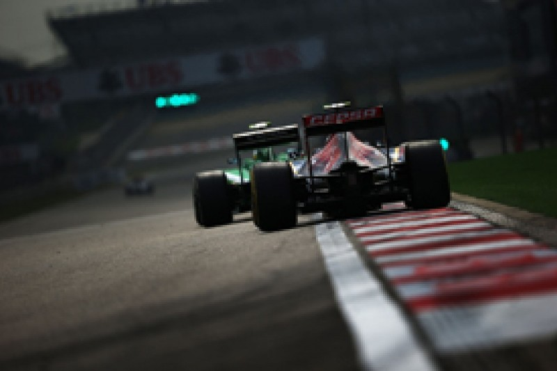 Formula 1 engine noise action group eyes tailpipe solution