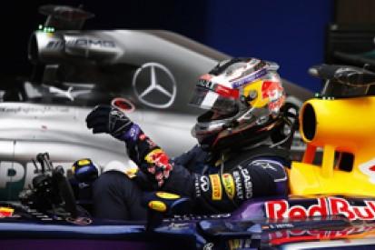 Chinese GP: Sebastian Vettel says Daniel Ricciardo doing better job