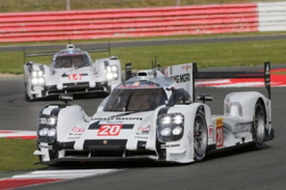 Silverstone WEC: Mark Webber's Porsche leads final practice