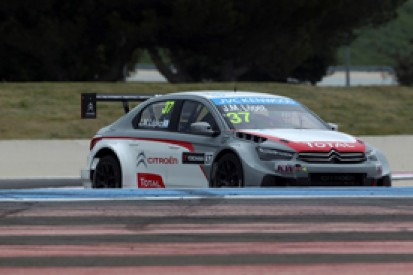 Paul Ricard WTCC: Jose Maria Lopez sets test pace for Citroen