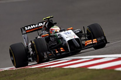 Chinese GP: Force India not as strong as in Bahrain - Sergio Perez