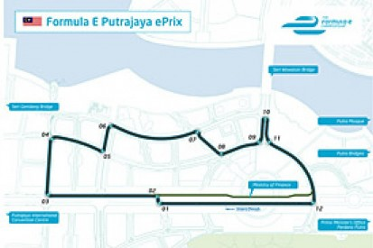 Formula E reveals circuit layout for Malaysian round