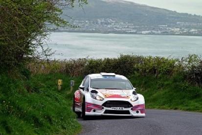 Barrable starts Irish round of European Rally Championship on top