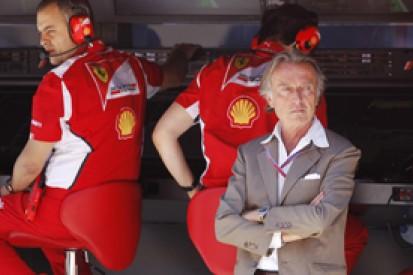 Luca di Montezemolo will be more involved with Ferrari in Formula 1