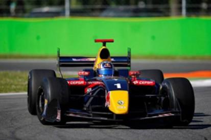 Monza FR3.5: Red Bull man Carlos Sainz Jr bounces back with pole