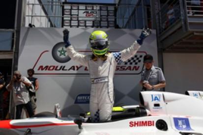 Kimiya Sato wins opening race of 2014 Auto GP season in Marrakech