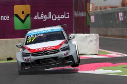 Jose Maria Lopez takes pole for Citroen in Marrakech WTCC opener
