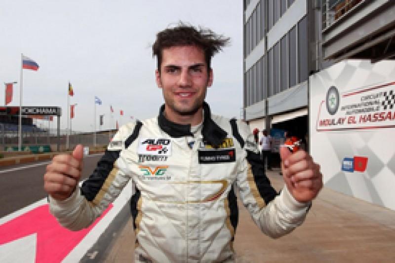 Marrakech Auto GP: Kevin Giovesi takes maiden pole