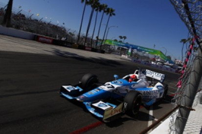 Long Beach IndyCar: James Hinchcliffe tops first practice session