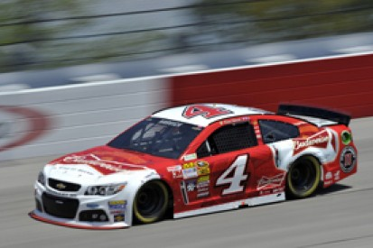 Darlington NASCAR: Kevin Harvick claims pole with last-gasp lap