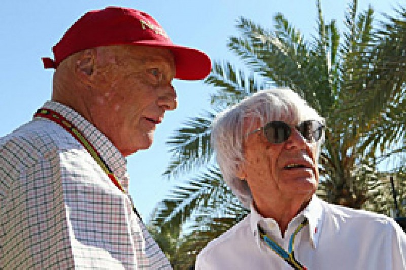 Lauda furious with Ecclestone, Montezemolo for F1 criticism