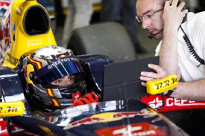 Monza FR3.5: Carlos Sainz Jr fastest for DAMS in Friday practice