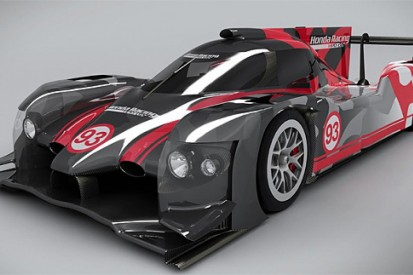 Honda Performance Development reveals first images of LMP2 coupe