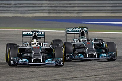 Hamilton admits Bahrain GP battle with Rosberg on 'knife edge'