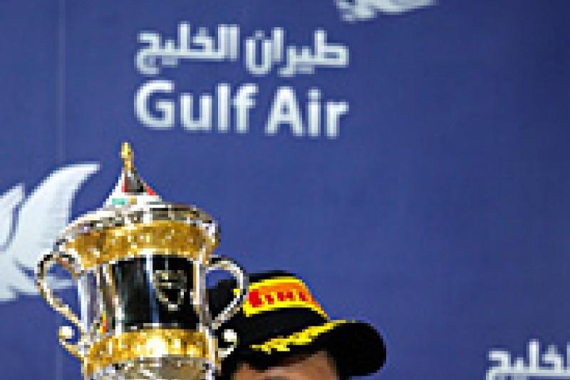 Bahrain GP: Perez podium 'special' after tough 2013