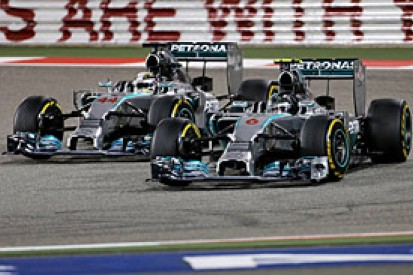 Bahrain GP: winner Lewis Hamilton says Nico Rosberg did a better job than him