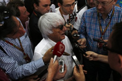 Bernie Ecclestone says 2014 Formula 1 is 'unacceptable' to fans
