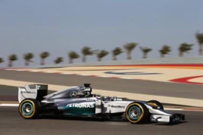 Bahrain GP: Lewis Hamilton completes practice sweep for Mercedes