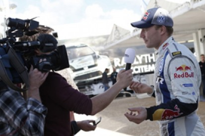 World Rally Championship drivers ordered not to talk to TV crews
