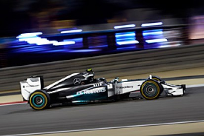 Bahrain GP: Rosberg beats Hamilton to pole as Mercedes dominates