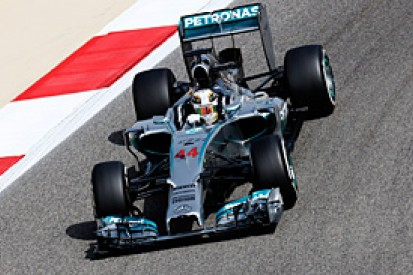 Bahrain GP: Lewis Hamilton puts Mercedes on top in FP1