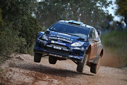 WRC Portugal: Mikko Hirvonen moves into the lead ahead of Ogier