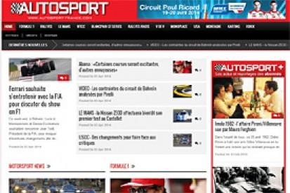 AUTOSPORT launches French version
