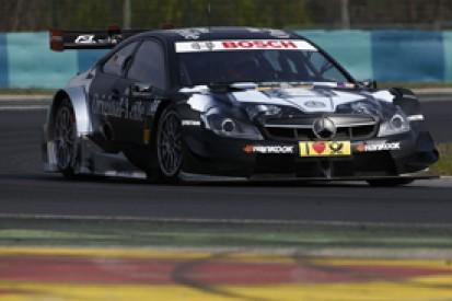 Hungary DTM test: Christian Vietoris leads day three for Mercedes