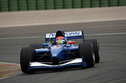 Sam Dejonghe sets record pace in Valencia Auto GP test