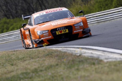 Hungary DTM test: Rookie Nico Muller leads day two for Audi