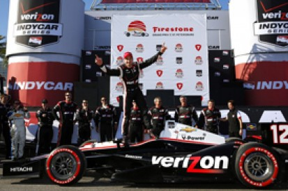 St Petersburg IndyCar: Will Power starts season with win for Penske