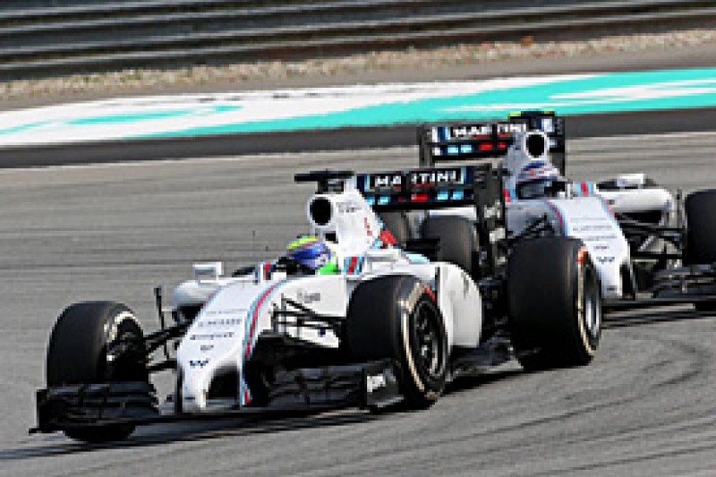 Williams sure F1 team orders row between Massa, Bottas is resolved