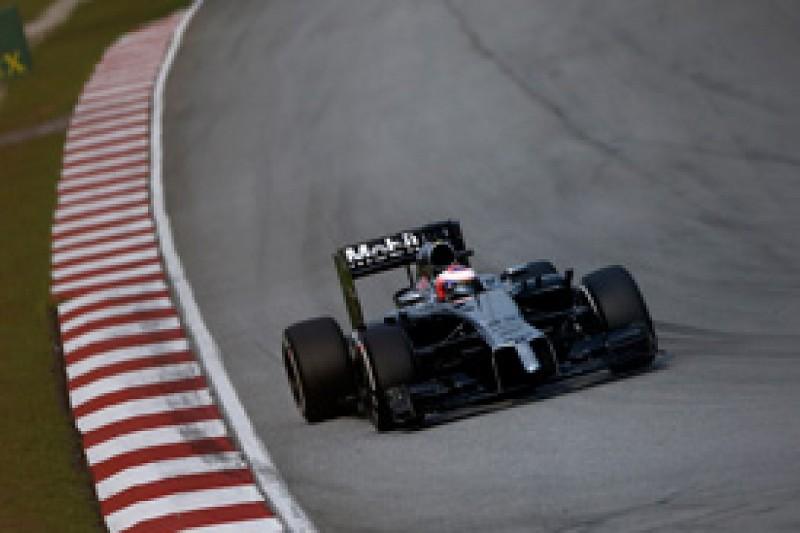 Button thinks McLaren F1 team gains masked by Sepang demands
