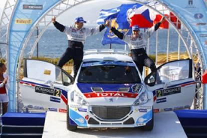 Acropolis ERC: Craig Breen wins on Peugeot 208 T16's debut
